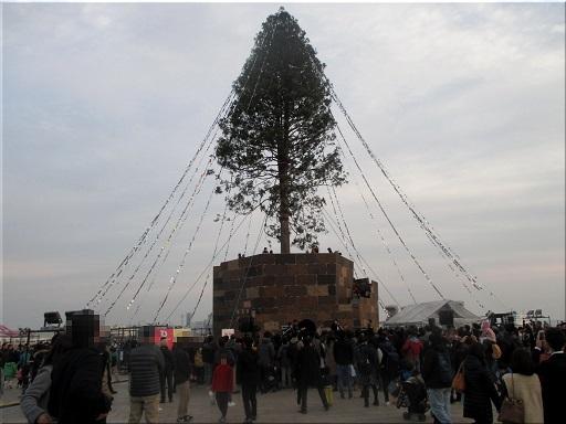 メリケンパーク 世界一のクリスマスツリー 2