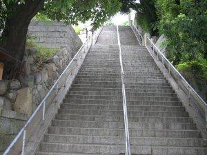 祇園神社 石段