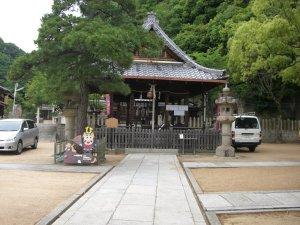 祇園神社 拝殿