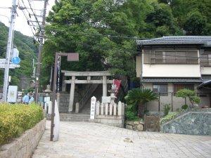 祇園神社 鳥居
