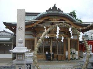 荒田八幡神社 拝殿
