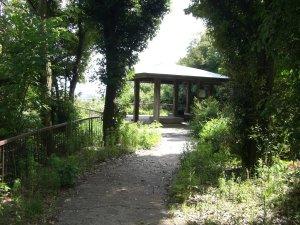 公園横の展望台