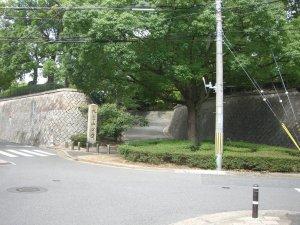 大倉山公園 西側の入り口