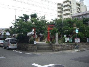 厳島神社(兵庫区)へやってきました