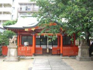 厳島神社(兵庫区) 拝殿