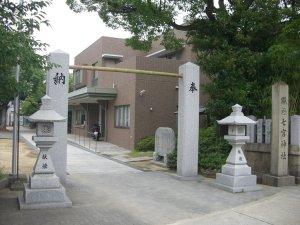 七宮神社 東側入り口