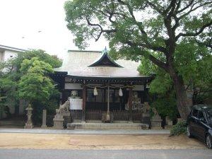 七宮神社 拝殿