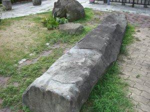 会下山館の門柱