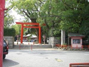 長田神社 東の鳥居