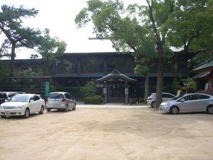 長田神社の参集殿