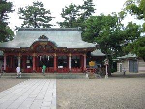 長田神社 拝殿