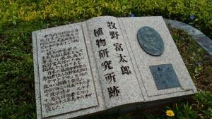 牧野植物研究所跡の碑 7