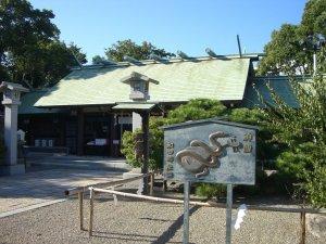和田神社です