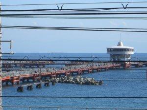 目の前は須磨海釣り公園