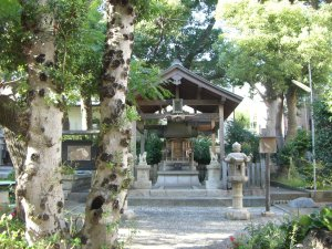 安徳帝内裏跡伝説地の安徳宮