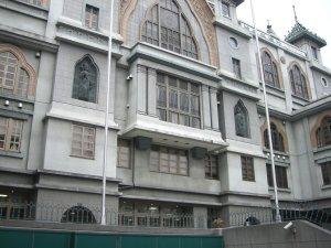 花隈にある本願寺神戸別院