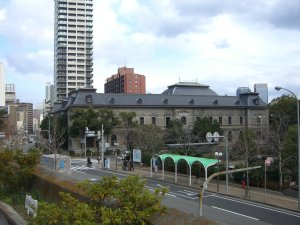 兵庫県庁から望む兵庫県公館