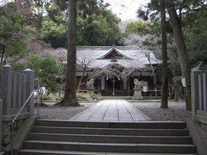 保久良神社 拝殿