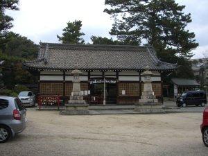 森稲荷神社 拝殿