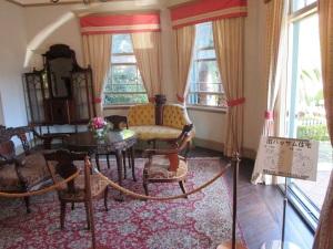 旧ハッサム邸 内部公開