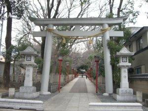 六甲八幡神社 鳥居