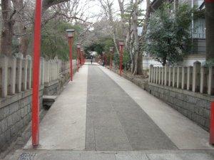 六甲八幡神社 参道