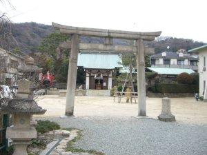 鷺宮八幡神社 鳥居
