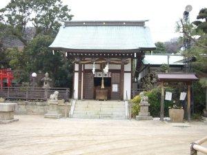鷺宮八幡神社 拝殿