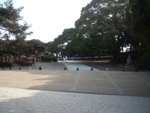 須磨離宮公園 中門広場