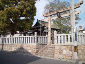 厳島神社(東灘) 鳥居