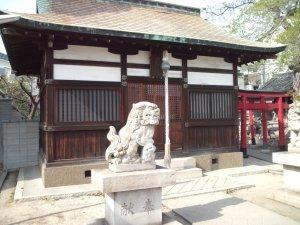 厳島神社(東灘) 拝殿