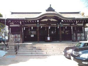 大日女尊神社 拝殿