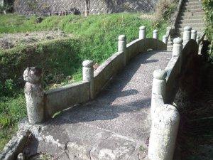 山伏山神社 石橋
