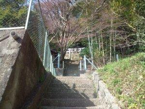 山伏山神社 鳥居