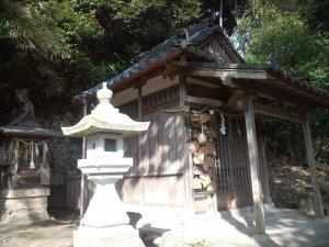 山伏山神社 拝殿