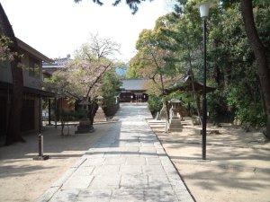 弓弦羽神社 参道