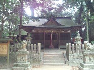 山王神社 拝殿