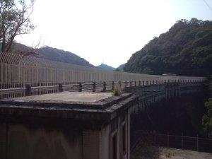 立ヶ畑堰堤(下流側)