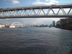 南魚崎から見る六甲アイランド