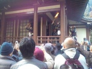 妙法寺 鬼踊り ジカ鬼