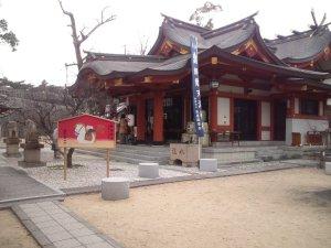 綱敷天満神社 社殿