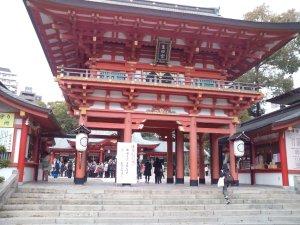 生田稲荷神社祭にやってきました