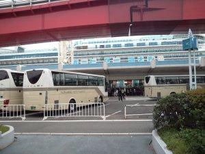 ポートターミナル駐車場から撮る