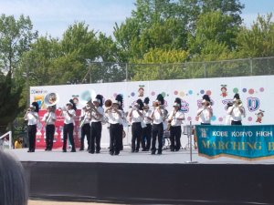 神戸弘陵学園高等学校 マーチングバンド