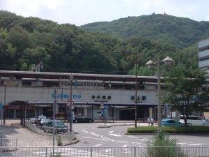 神戸電鉄 谷上駅