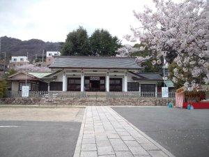 神戸護国神社 社殿