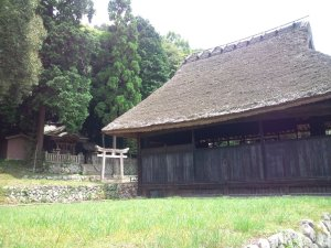 天津彦根神社と農村歌舞伎舞台