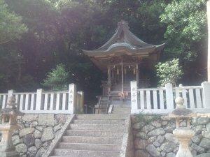 原野 天津彦根神社 社殿