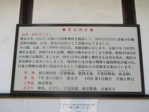 箕谷神社 由緒・神社あらまし