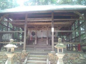 山田の里 若王子神社の社殿